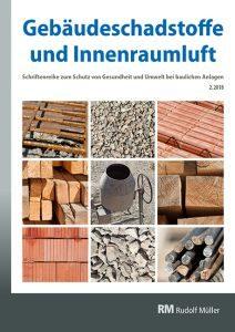 Cover der Schriftenreihe Gebäudeschadstoffe und Innenraumluft, Ausgabe 2.2018