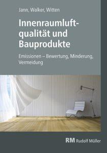 Cover des Buches Innenraumluftqualität und Bauprodukte
